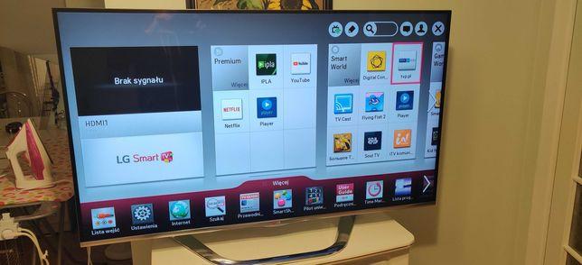 TV LG 55LA740S, 3D, Smart TV jak nowy
