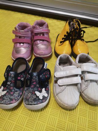 Обувь для девочки 24 размер, кеды, ботинки, тапочки