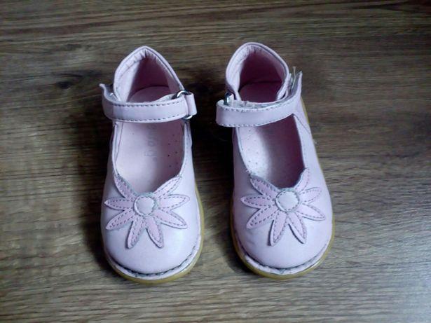 Buty, buciki, trzewiki, półbuty skórzane dziewczęce gufo r. 21