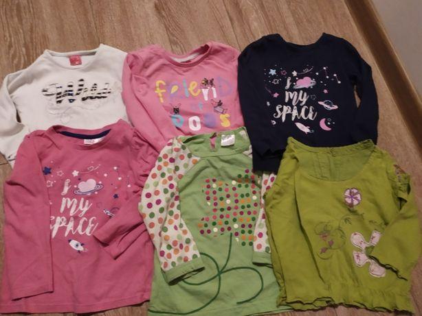 Bluzeczki dla dziewczynki rozm.92