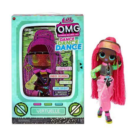 Кукла ЛОЛ ОМГ Виртуаль LOL Surprise OMG Dance Virtuelle 117865