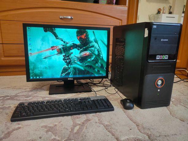 Игровой компьютер Pentium G4400GTX 460 1GB Dell 22''