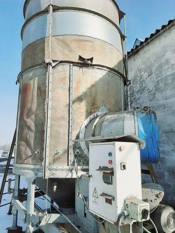 Zbiornik suszarnia 12t Riela GT1200 kukurydzy ziół