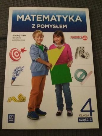 Matematyka z pomysłem podręcznik kl. 4. cz. 2 nowy
