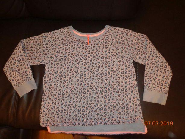 Bluza Next 140cm lamparcie cętki