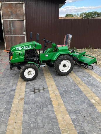 Мінітрактор DW 160 LX (ДВ 160 ЛХ) Мини трактор Безкоштовна доставка