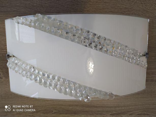 Sprzedam szklany kinkiet LED styl Glamour
