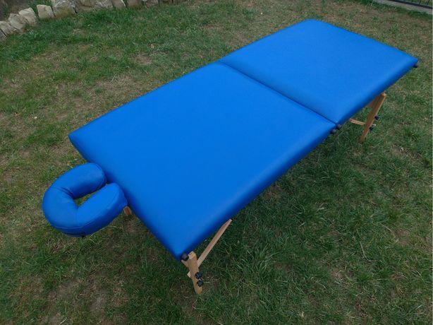 Дерев'яний 2-х сегментарний масаж стіл