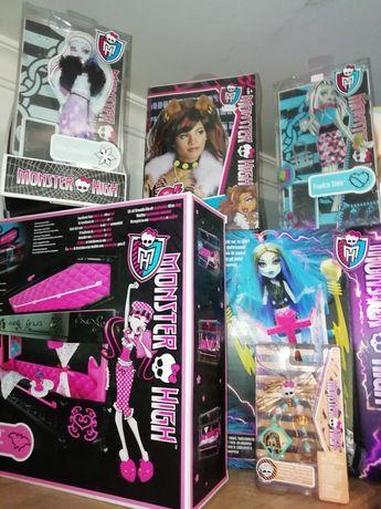 Artigos Monster High NOVOS