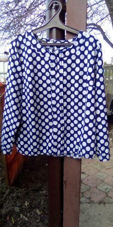 Блузка блуза батал большой размер 54-56