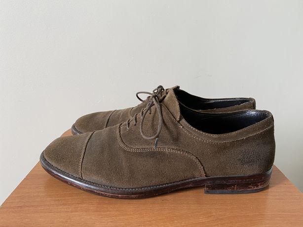 р.40 Seboys мужские замшевые туфли коричневого цвета Португалия