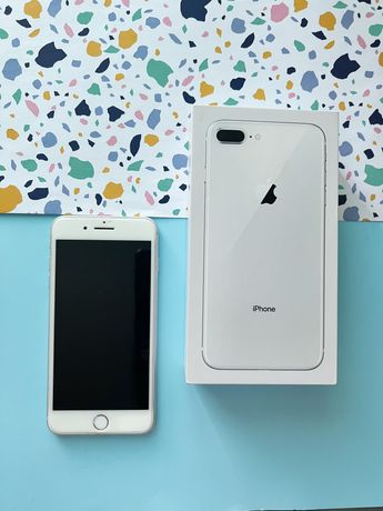 iPhone 8 plus, 256gb, silver