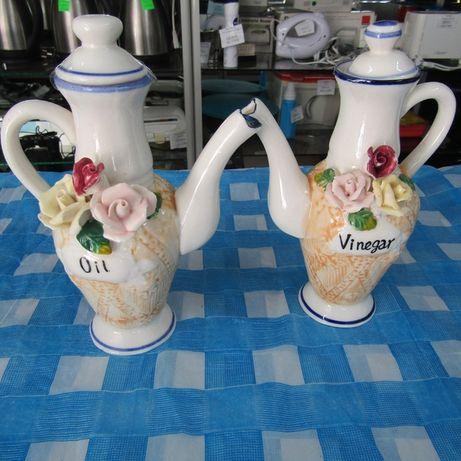 Емкости для уксуса и масла чайники