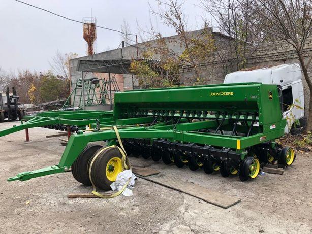Сеялка зерновая механическая John Deere 750(Джон Дир)