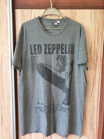 Led Zeppelin t shirt h&m rozmiar xl
