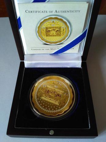 Ниуэ, 2013 Успения Пресвятой Богородицы серебро 62,2 гр, тираж 1000 шт