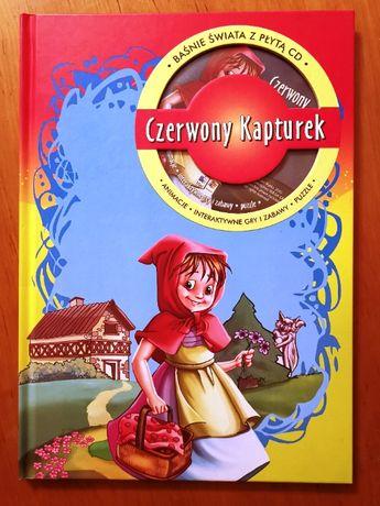 """""""Czerwony Kapturek. Baśnie z płytą CD"""""""