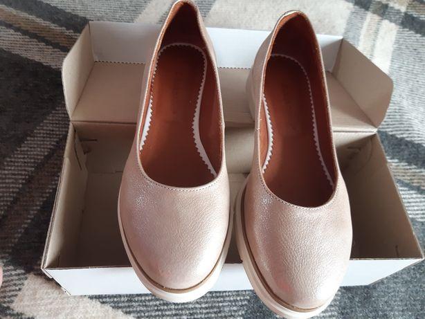Туфли кожаные 37размер