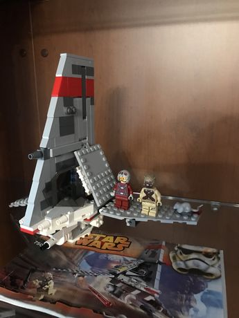 Lego Star Wars пустынный шаттл