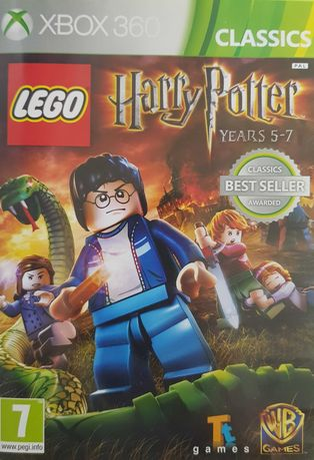 LEGO Harry Potter: Lata 5-7 ENG XBOX 360 Używana Kraków
