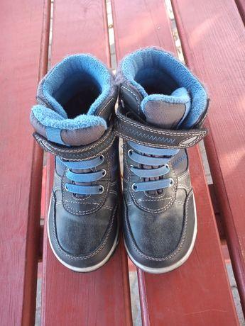 Buty ocieplane  zapinane na rzep