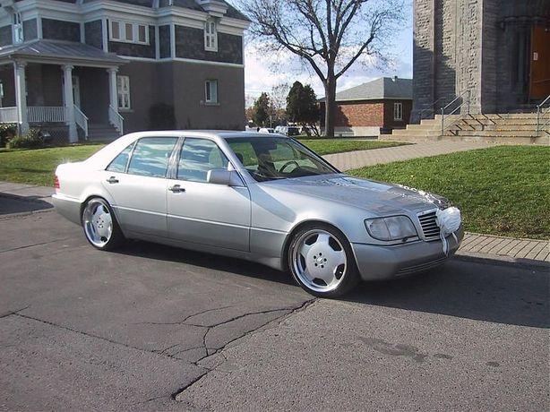 Автомобиль для свадьбы W140 Long