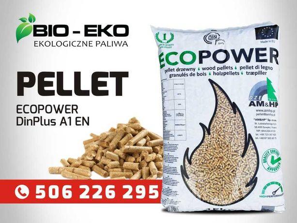 Pellet Hurt ECOPOWER DinPlus A1 EN Nowosc Olczyk Lava Olimp