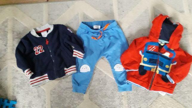 Zestaw ubrań niemowlęcych 74 cm