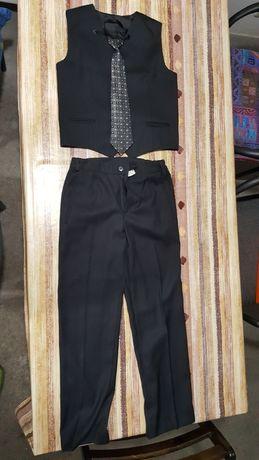 Spodnie - kamizelka 146 i buty 36