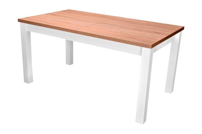 Stół Kwadrat rozkładany drewniane nogi 160/90/240 darmowa dostawa