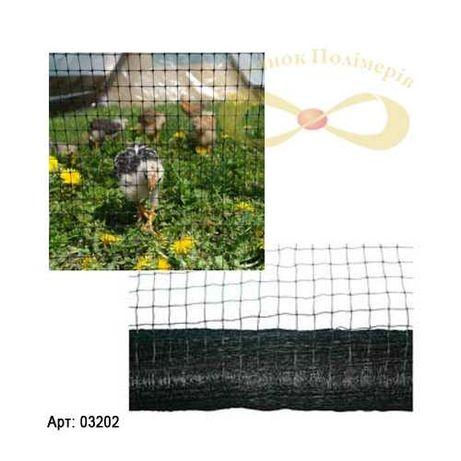Сітка для курчат в рулоні 1х100 м Сетка для курей