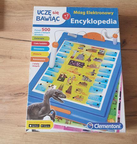 Encyklopedia mózg elektronowy Clementoni uczę się bawiąc