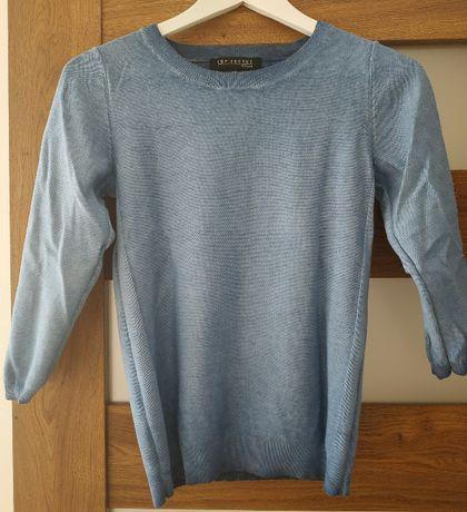 sweter niebieski top secret rozmiar 34