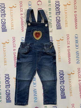 Комбинезон джинсовый бренд D&G
