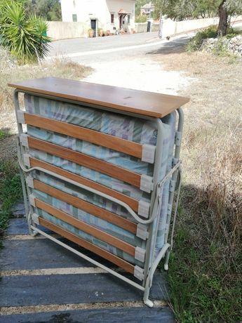 Cama articulada robusta com colchão