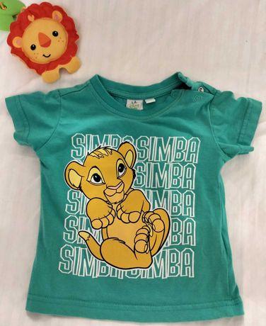 Продам стильную футболку Disney baby для малыша (68 размер).