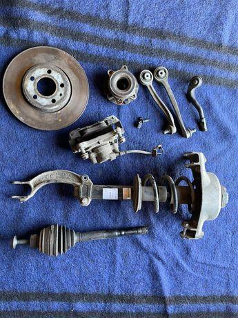 Audi A4 B8 розбор стойка, пружина, ричаг, полуось,супорт, диск