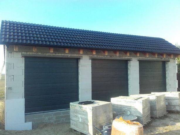 Drzwi garażowe energooszczędne bramy segmentowe panelowe 2599zł