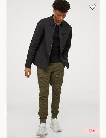 Джогеры/ джогери штани/штаны брюки H&M размер L