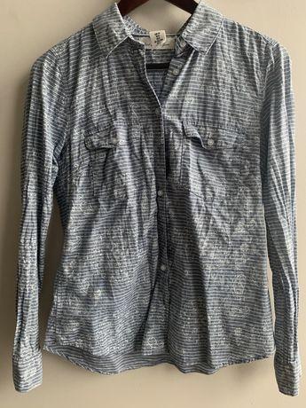 H&M Koszula z dlugim rękawem rozm 36 nowa