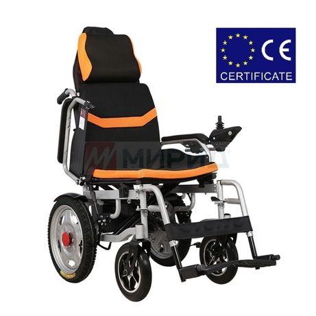 Инвалидная коляска. Электроколяска складная D–6036. Кресло коляска.