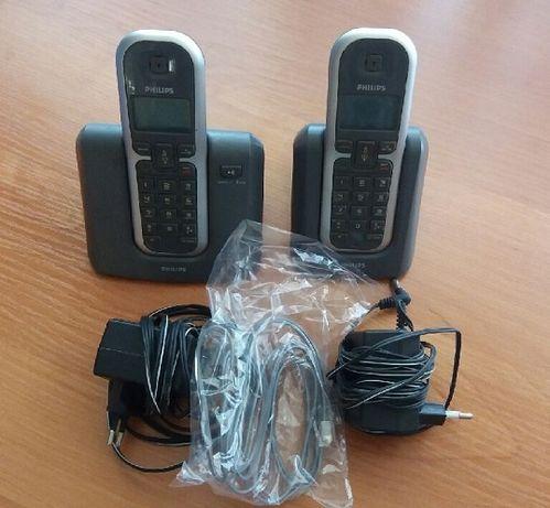 Telefon Philips KX-TG6412 bezprzewodowy z dodatkową słuchawką