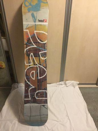 Продаю сноуборд HEAD 159 cm