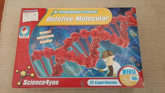 Detetive Molecular Investigação criminal - Kit Science4you