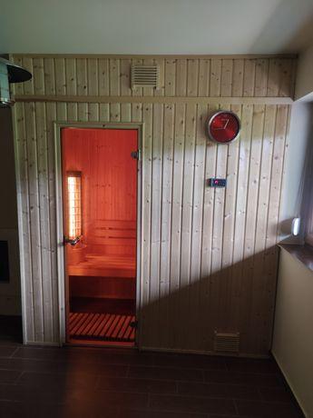 Sauna fińska z infrared