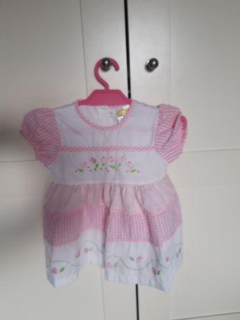 Śliczna sukienka r. 80