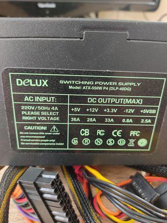Блок питания Delux DLP-40DG 550W 12cm