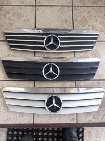 Grill Atrapa  Mercedes A Klasa Audi 80 B 3 Tuning Oryginał Kamei Chrom