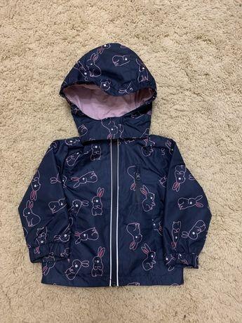Ветровка , курточка для девочки 80