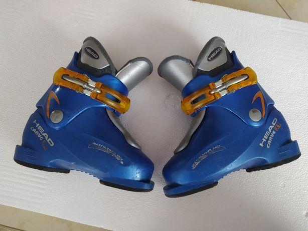 Buty narciarskie HEAD carve dziecinne rozm. 28